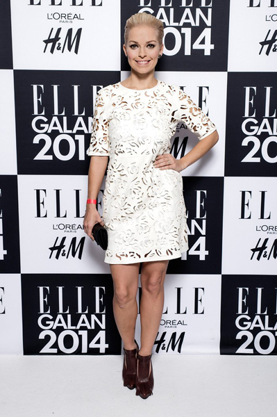 Petra at the ELLE Galan in Sweden, 2014