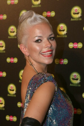 Petra at the TMF Awards in Belgium, 2009